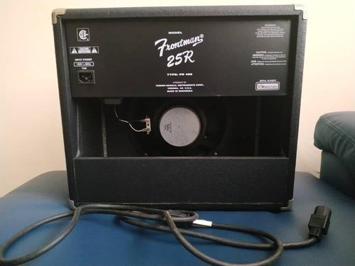 amplificador fender frontman 25r
