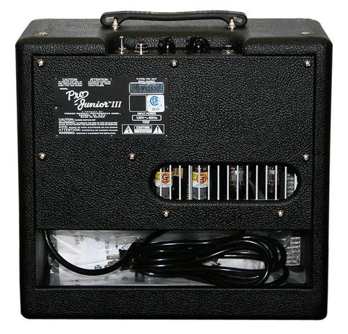 amplificador fender pro junior ill 15w valvular envio cuotas