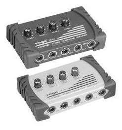 amplificador fone 4 saídas csr yoga ha04 monitor power click