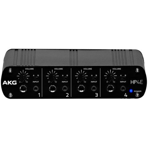 amplificador fone akg hp4e
