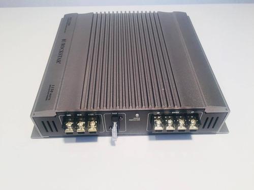 amplificador fuente 2 ch 1150w rockstar by audiobahn