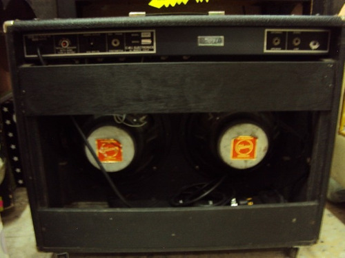 amplificador gibson vintage g105 2x12 200w combo guitarra