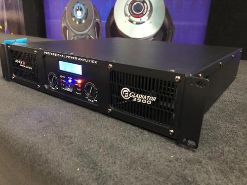 amplificador gladiator-2500