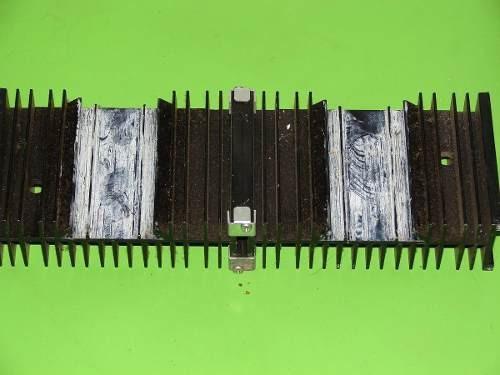 amplificador gradiente model 246/366 dissipador leia!!