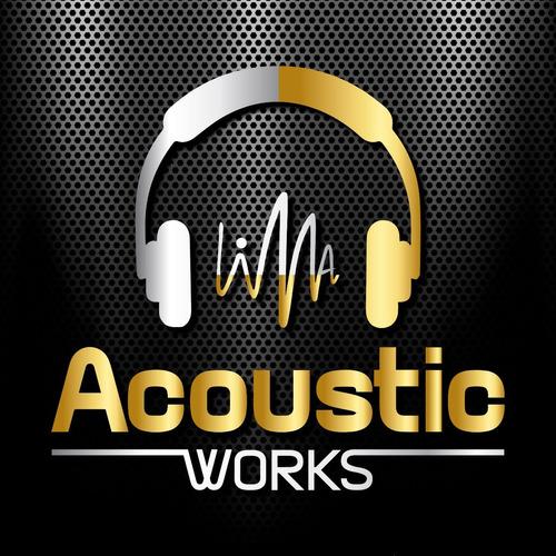 amplificador guitarra acústica behringer at108 + garantía