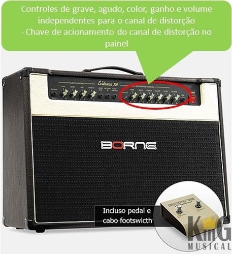 amplificador guitarra borne