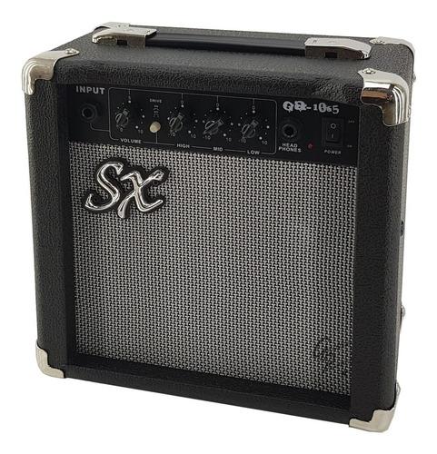 amplificador guitarra con eq distorsion 10w sx premium envio