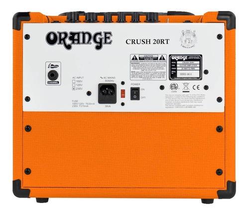 amplificador guitarra electrica crush 20rt orange