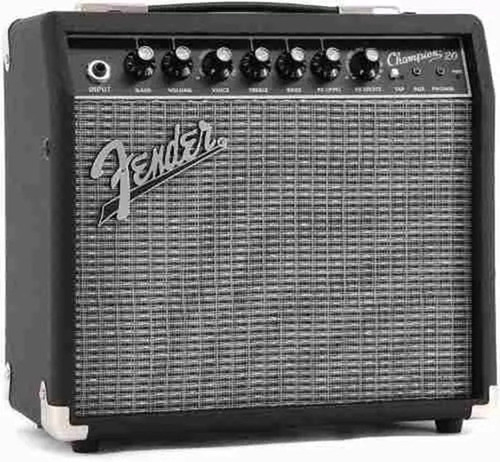 amplificador guitarra electrica fender champion 20 watts