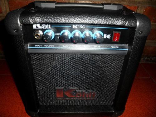 amplificador guitarra electrica kohlt 15g