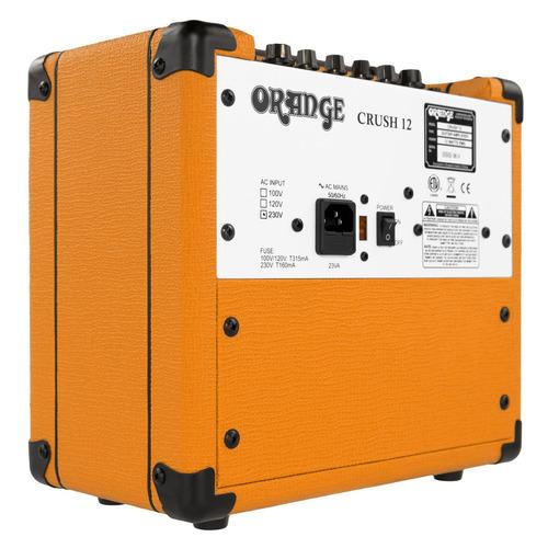 amplificador guitarra eléctrica orange crush 12 + garantía
