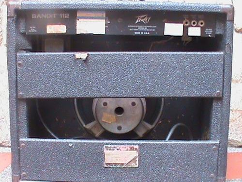amplificador  guitarra electrica peavy 80 w  u.s.a. remate