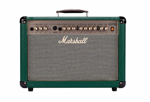 amplificador guitarra marshall as50d green + envio