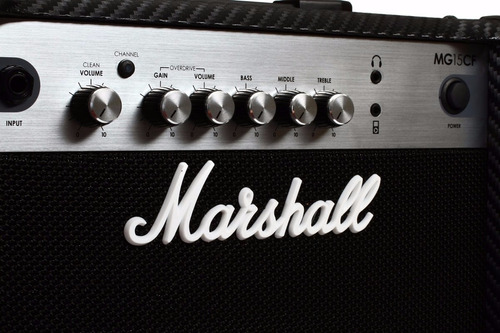 amplificador guitarra marshall mg15cf  + envio