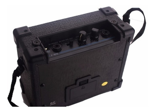 amplificador guitarra mini portátil daphon ga-1  5w nuevo!!!