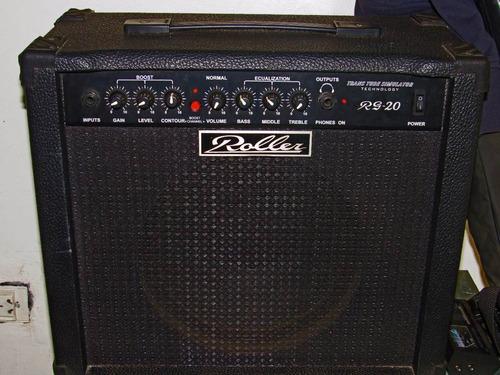 amplificador guitarra roller