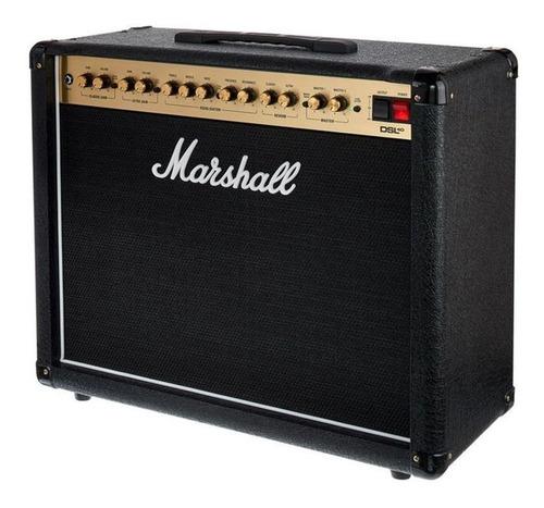 amplificador guitarra tubo 40w (envio gratis) dsl40 marshall
