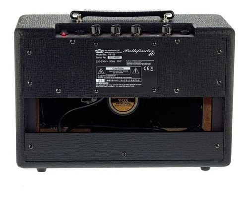 amplificador  guitarra vox pathfinder 10 + garantía
