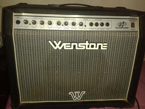 amplificador guitarra wenstone  ge600 permuto mayor valor