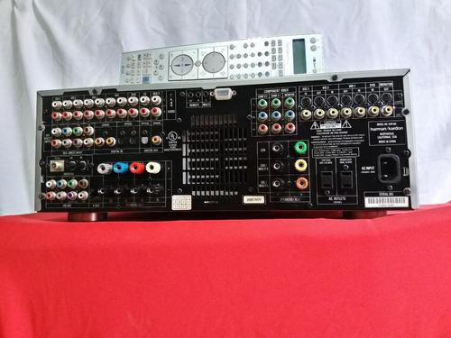 amplificador harman kardon avr630 + 7.1 + excelent + control