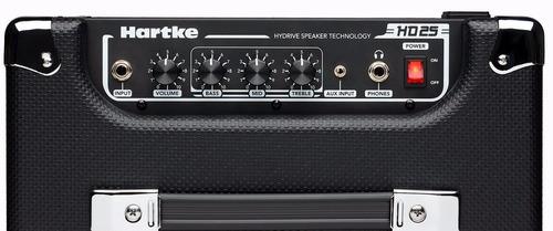 amplificador hartke para bajo electrico hd25 hd-25 hd