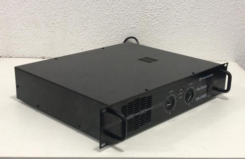 amplificador hayonik ambience line sa-2400 **ler descrição**