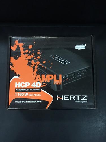 amplificador hertz hi-end hcp4d 1160w 4 canais