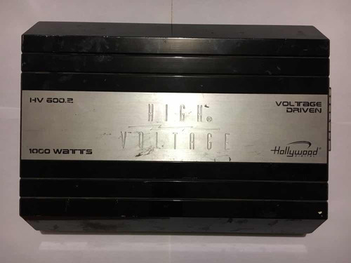 amplificador hollywood hv 600.2 1000 watts