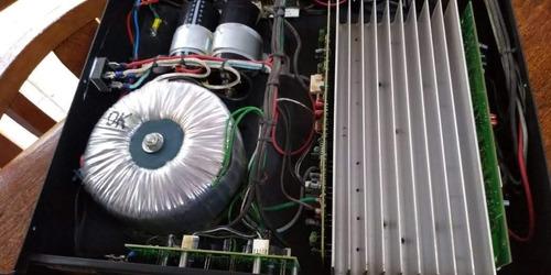 amplificador  hot sound hs pro 1000