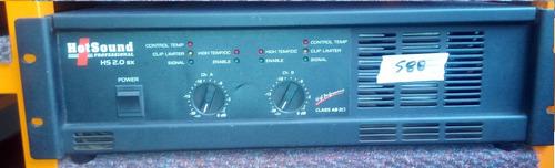 amplificador hotsound audio