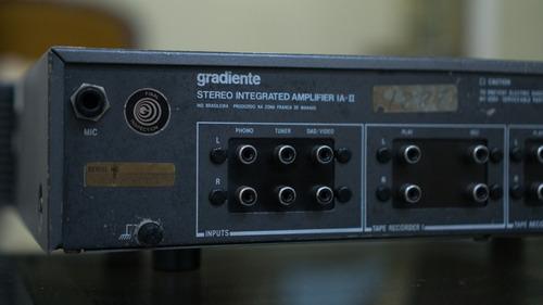amplificador ia-ii gradiente