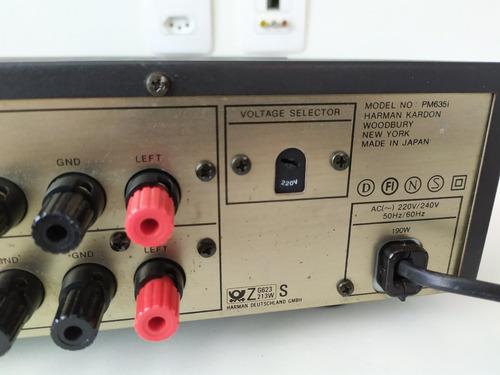 amplificador integrado harman kardon pm635i ñ denon marantz