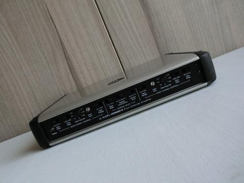 amplificador jl audio hd600/4 tope de línea de 4/3/2 canales