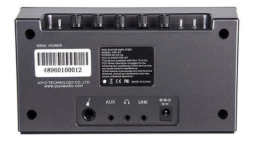 amplificador joyo top-gt mini bluetooth guitarra electrica /