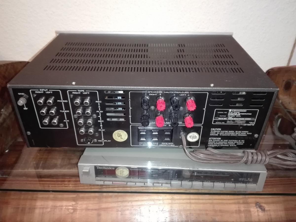 Amplificador Kenwood Ka-405