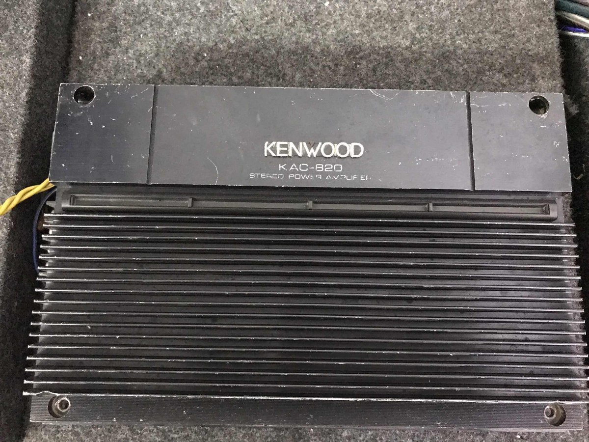 Amplificador Kenwood Kac 820 Old School 8 800 00 En Mercado Libre