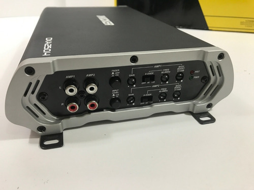amplificador kicker 500 watts 4 canales dxa250.4