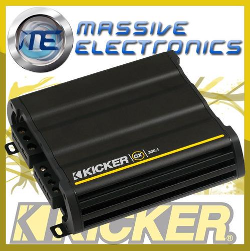 amplificador kicker cx300.1 600 w max 1 ch clase d oferta