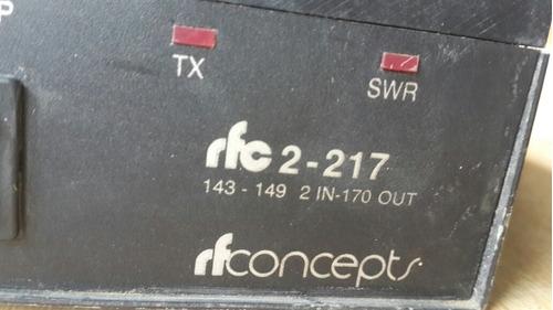 amplificador lineal rfconcepts 2-170v