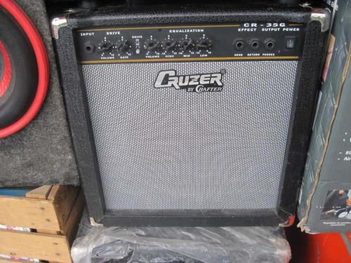 amplificador marca cruser by crafter  modelo cr-35g para gui