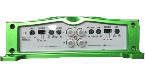 amplificador marca x-fider ref: xfp-1650.4df 4ch 2500watts