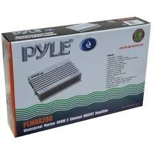 amplificador marino marca pyle de 400 watts nuevo