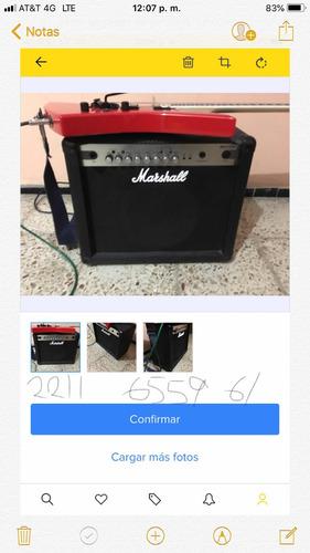 amplificador marshall 30cfx