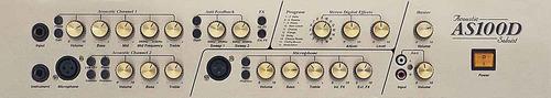 amplificador marshall as 100 d p/ acustica teclados envios