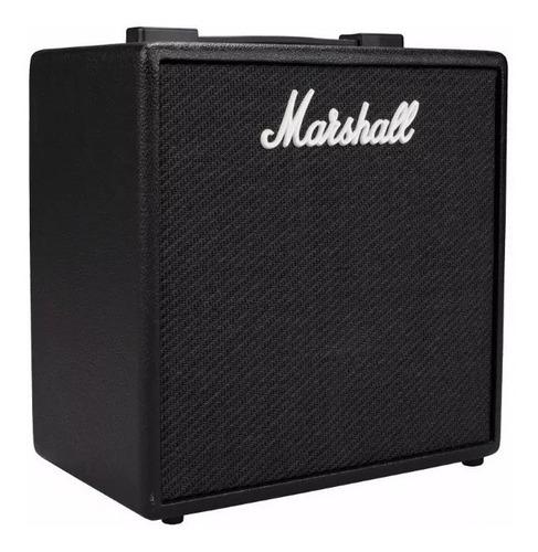 amplificador marshall code 25 con bluetooth y conexion usb