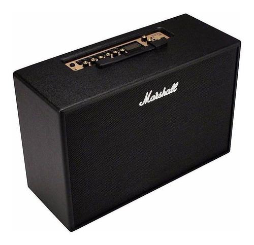 amplificador marshall code 50 transistor 50w negro
