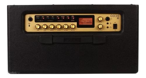 amplificador marshall code50 con bluetooth y conexion usb