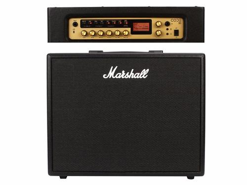 amplificador marshall code50 con bluetooth y usb + envio