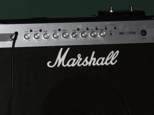 amplificador marshall mg 101 cfx