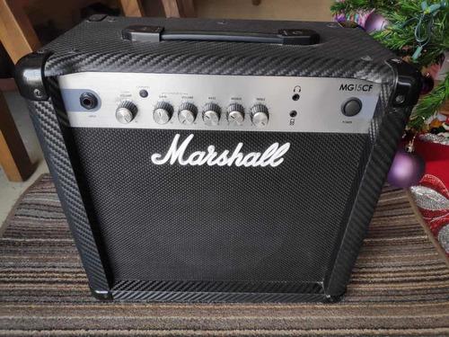 amplificador marshall mg15cf 1x8 15w combo para guitarra